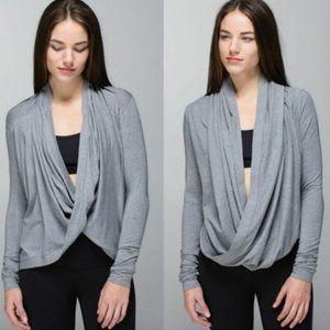 Lululemon Iconic Wrap Heathered Grey Size 2